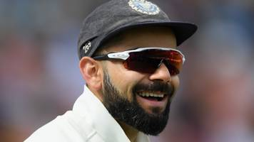 India v West Indies: Virat Kohli hits 139 as hosts dominate