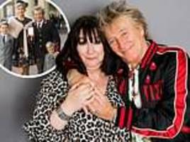 rod stewart and the daughter he gave up for adoption before she spiralled