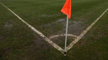non-league game abandoned after 'racial abuse' and security breach