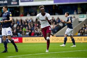 aston villa player ratings as the post bruce era kicks off with a defeat at millwall