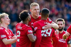 aberdeen 4 st mirren 1 as sam cosgrove breaks duck with deadly double for dons