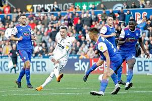 swansea city 2 ipswich town 3: graham potter's men made to pay for lack of clinical edge in liberty stadium thriller