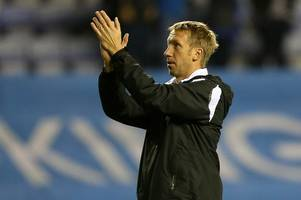 the categorical response from graham potter to job link and the swansea city game that's pleased him the most