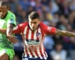 atletico madrid 1 real betis 0: correa comes off the bench to hit winner