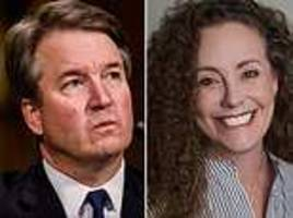 kavanaugh's third accuser says she is 'disgusted and appalled' by senators' actions