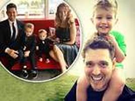 michael bublé admits he thought 'he'd never make music again' after son noah's cancer diagnosis