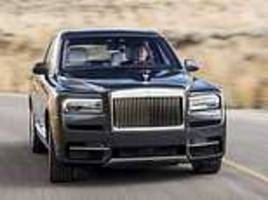 'fit for the queen': rolls-royce unveils its first ever 4x4
