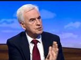 john mcdonnell says labour could bring in a four-day working week