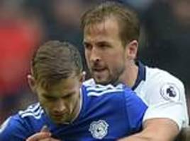 don't blame me for joe ralls red card, says tottenham's harry kane