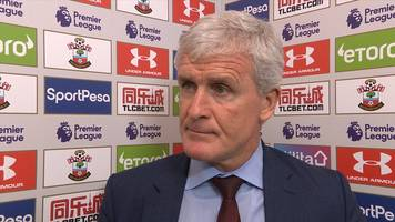 southampton 0-3 chelsea: mark hughes says team showed too much respect