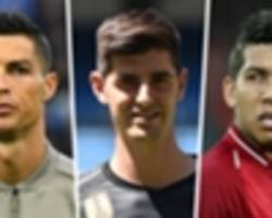 ballon d'or 2018: ronaldo, courtois & firmino among first 10 ballon d'or nominees