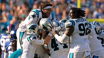 monday's hot clicks: millions of people missed the thrilling finish of panthers-giants