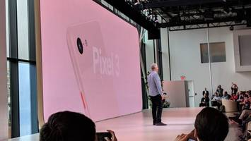 google's pixel 3 is now official – and it looks just like the leaks