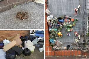hull's filthiest streets revealed as residents battle human waste, drug needles and dead pets