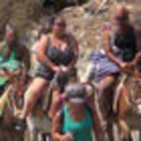 Ban on big, fat, Greek donkey rides: Santorini stops overweight donkey riders