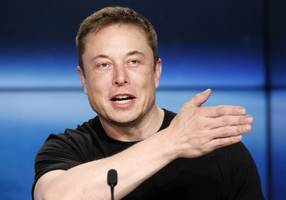 elon musk denies report that james murdoch is the top choice to replace him as tesla's chairman (tsla)