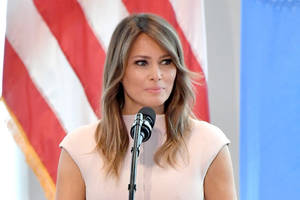 Melania Trump Questions #MeToo Women: 'Sometimes the Media Goes Too Far' (Video)