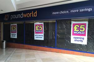 derby poundworld to become a £5 world!