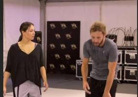 strictly's seann walsh and katya jones pictured together for first time since kiss scandal