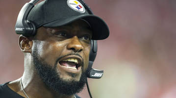 report: mike tomlin fined $25,000 after criticizing nfl officiating vs. falcons