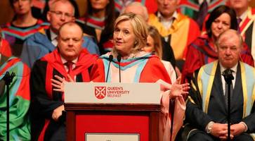 northern ireland needs to stay unified in face of brexit, says hillary clinton