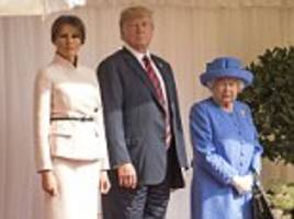 britain's £18million police bill for donald trump's july visit