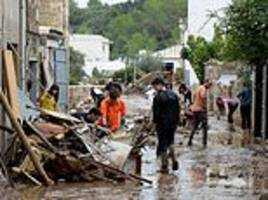 British couple, 77 and 75, killed in flash floods in Majorca