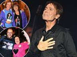 cliff richard thanks fans who stuck by him through false sex abuse claims at 60th anniversary tour