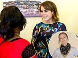 Princess Eugenie reveals modern slavery victims and teenage cancer patients will be at her wedding