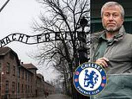 chelsea to offer racist fans trips to auschwitz… with choice of ban or educational course