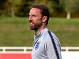 england train before flying to croatia for nations league clash