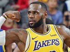 LeBron James dazzles again as LA Lakers beat Golden State Warriors