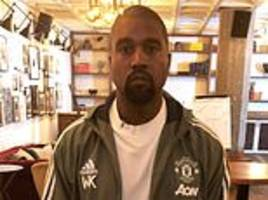 Manchester United fans hit back after the club share photo of Kanye West in the team's tracksuit