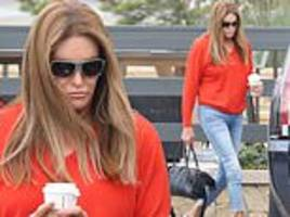 caitlyn jenner steps out solo after sophia hutchins reveals their relationship isn't romantic