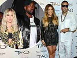 khloe kardashian accused of reuniting with french montana to 'get back' at cheat tristan thompson