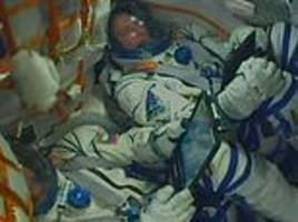 rocket launch malfunction forces astronauts to return to earth