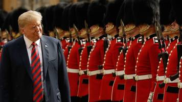 Donald Trump's UK visit cost nearly £18m to police