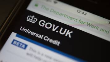 esther mcvey: some to be poorer under universal credit