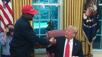 Kanye: MAGA hat 'made me feel like Superman'