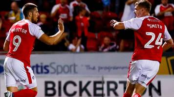 jamie proctor and michael smith: rotherham strikers sign new contracts