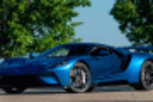 john cena's 2017 ford gt takes 6-figure hit on latest sale