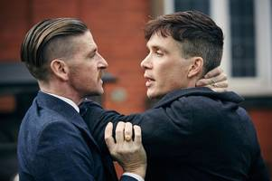 new photos emerge from peaky blinders season five as filming continues