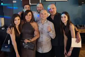 steelworker who suffered brain injury after heart attack at work thanks colleagues and medics for saving his life