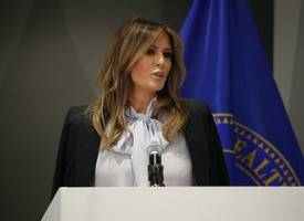 First Lady Melania Trump Claims She's The 'Most Bullied Person' In The World