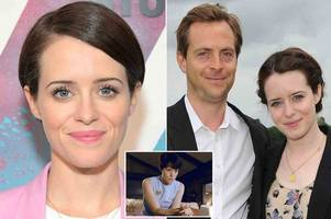 first man's claire foy says she will take a break from work after split from husband