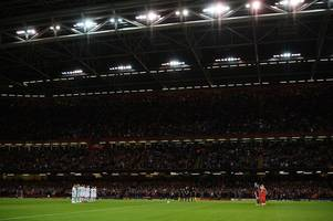 the wales v spain rendition of hen wlad fy nhadau at principality stadium was just incredible