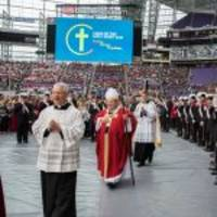 12,000 Catholic School Students Celebrated Mass at U.S. Bank Stadium, Held Massive Coats for Kids Drive