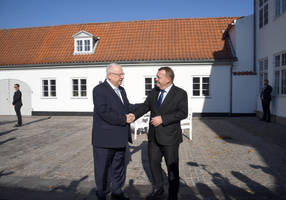 rivlin and danish pm profess strength of nations' friendship