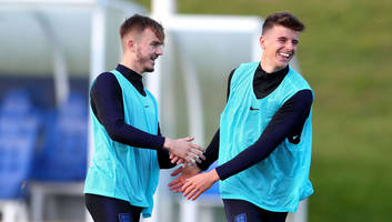 derby's mason mount reveals the challenge frank lampard set him after first england call-up