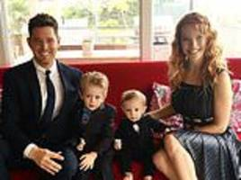 'my three-year-old son's cancer made me want to die' says michael buble